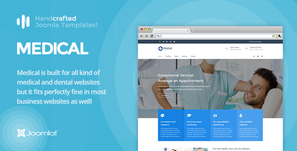 IT Medical - Gantry 5, Medical & Dental Joomla Template