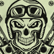 Skull Motorcycle T-shirt Design
