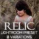 Relic Lightroom Preset