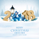 Happy New Year 2018 Background with Presents - GraphicRiver Item for Sale