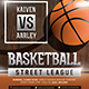 Baskeball Game Flyer - GraphicRiver Item for Sale