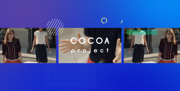 VideoHive Cocoa Colorful Intro 21156593