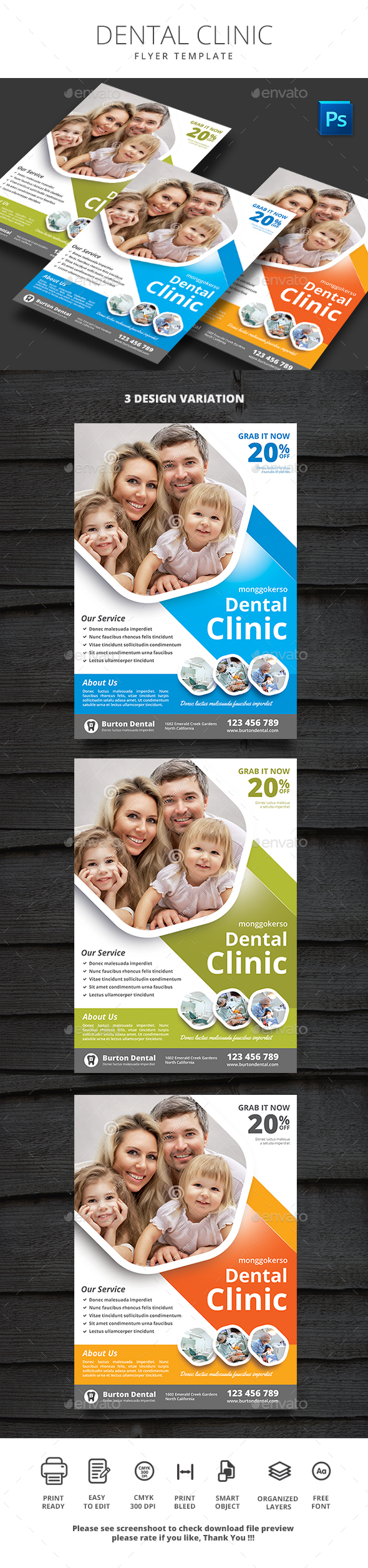 GraphicRiver Dental Clinic 21156629