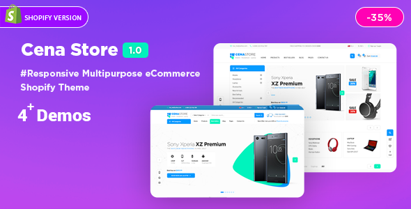 Image of Cena | Multi - Purpose Sectioned Shopify Theme