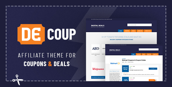 Image of DeCoup - WordPress Theme for Coupons and Deals