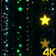 Colorful Shimmering Stars - VideoHive Item for Sale