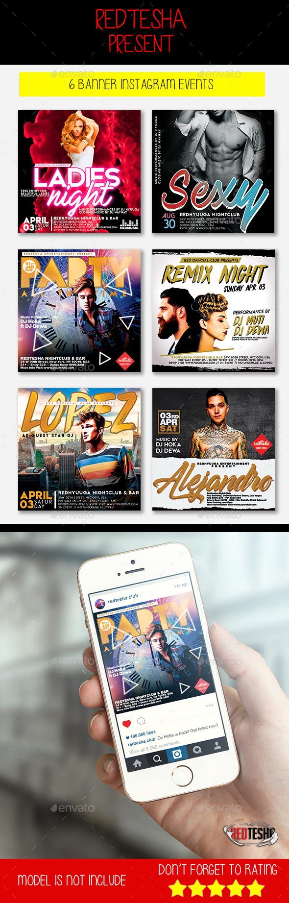 GraphicRiver Instagram Banner Events 21157184