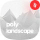 Polygonal Landscape with Connected Dots Backgrounds - GraphicRiver Item for Sale