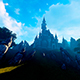 Fantastic Castle On High Mountain - VideoHive Item for Sale