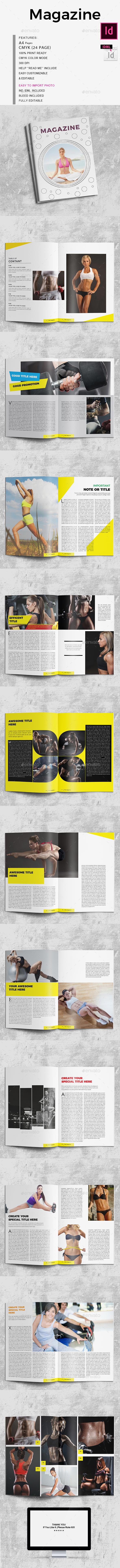 GraphicRiver Magazine 21157530