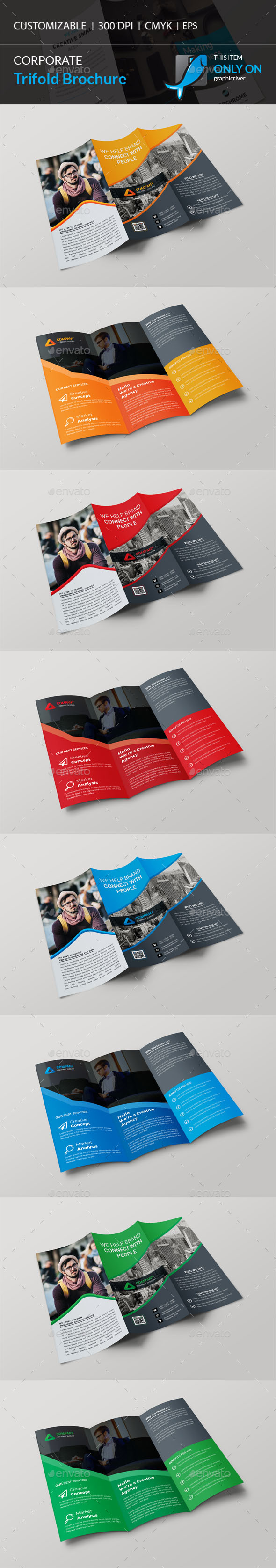 GraphicRiver Trifold Brochure 21157553
