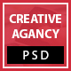 Creative Agency PSD Template - ThemeForest Item for Sale