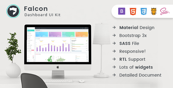 Download Falcon - Bootstrap Admin Dashboard Template + UI Kit            nulled nulled version