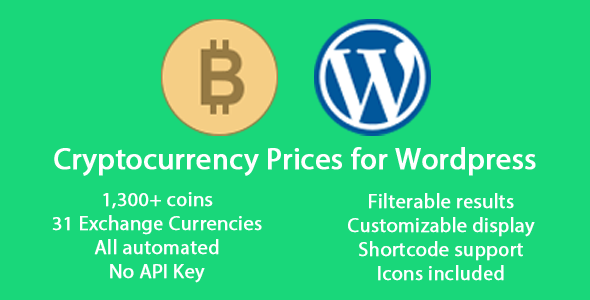Download Source code              Cryptocurrency Prices for WordPress            nulled nulled version