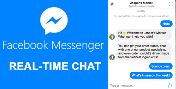 Facebook Messenger Customer Chat Plugin WordPress - CodeCanyon Item for Sale