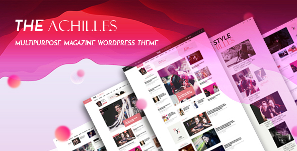 ThemeForest Achilles Multipurpose Magazine & Blog WordPress Theme 20955672