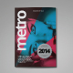 Metro Magazine Template - GraphicRiver Item for Sale
