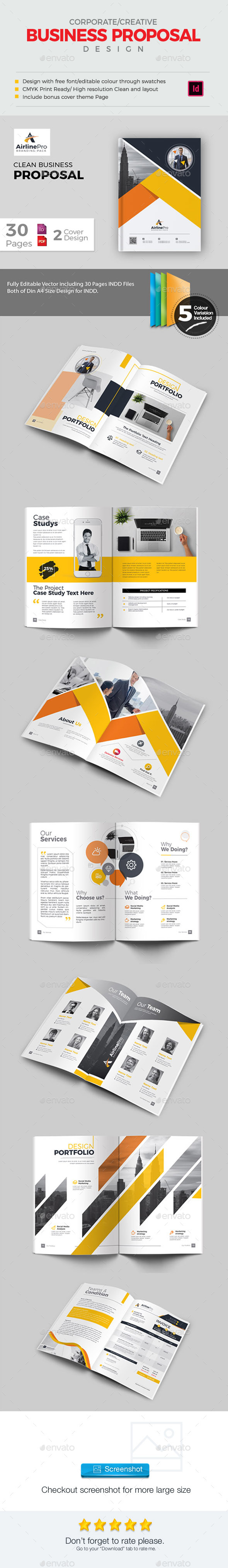 GraphicRiver Proposal 21157999