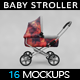 Baby Stroller MockUp - GraphicRiver Item for Sale