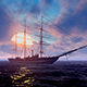 Sailing Ship At Sunset - VideoHive Item for Sale