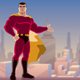 Superhero Presenting in City - VideoHive Item for Sale