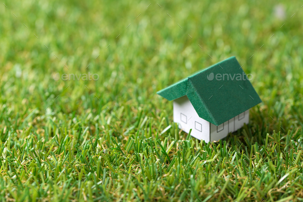 Eco friendly house - Stock Photo - Images