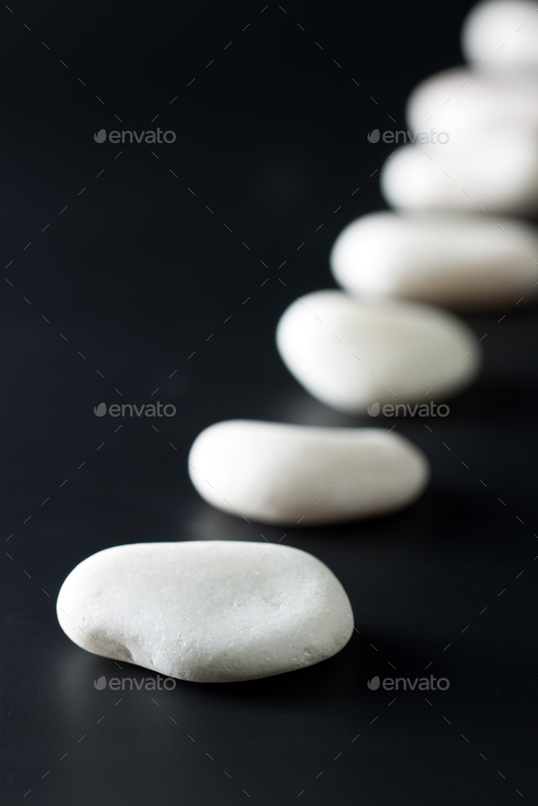 Path of stones - Stock Photo - Images