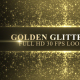 Golden Glitter Frame Background - VideoHive Item for Sale