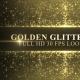 Golden Glitter Frame Background - VideoHive Item for Sale