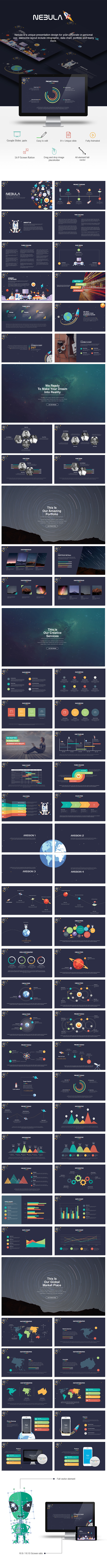 Nebula Google Slides Presentation - Google Slides Presentation Templates