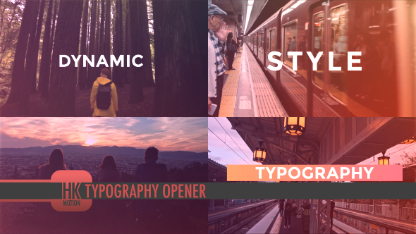 VideoHive Typography Opener 21132657