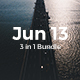 3 in 1 Premium Bundle - Jun 13 Powerpoint Template