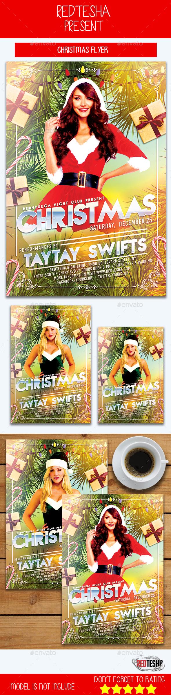 GraphicRiver Christmas Flyer 21159782