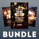 New Year Flyer Bundle Vol.12 - GraphicRiver Item for Sale