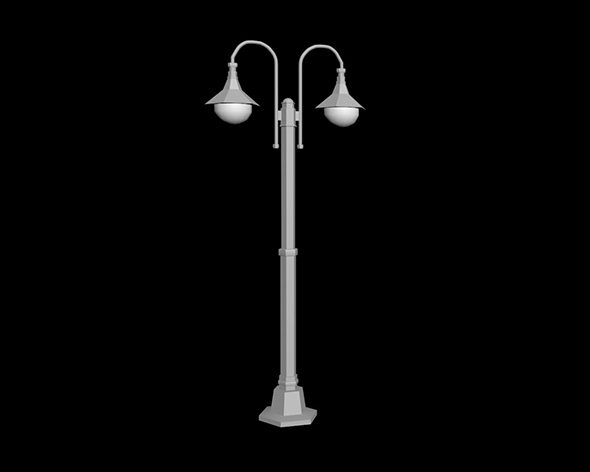 lamp post - 3DOcean Item for Sale