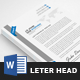 Minimal Letterhead - GraphicRiver Item for Sale