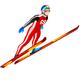 Ski Jump Winter Sports Clipart - GraphicRiver Item for Sale