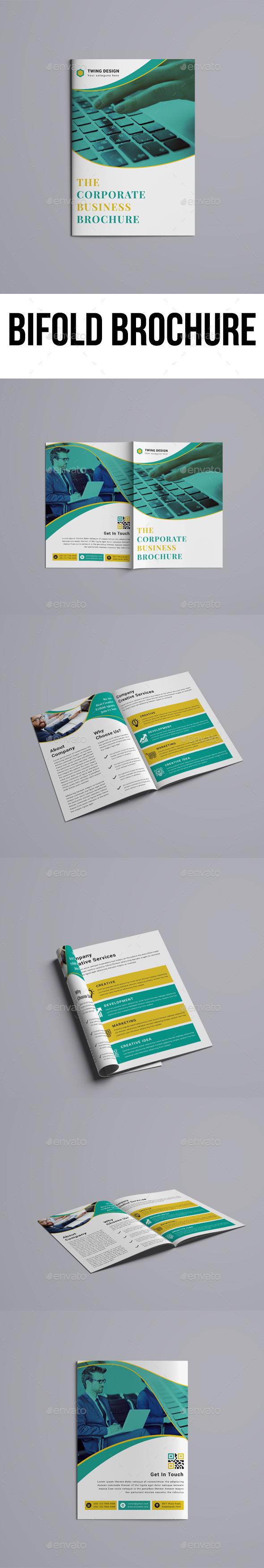 GraphicRiver Bifold Brochure 21160501