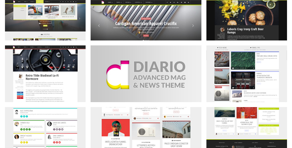 Download Diario: Magazine and News WordPress Theme            nulled nulled version