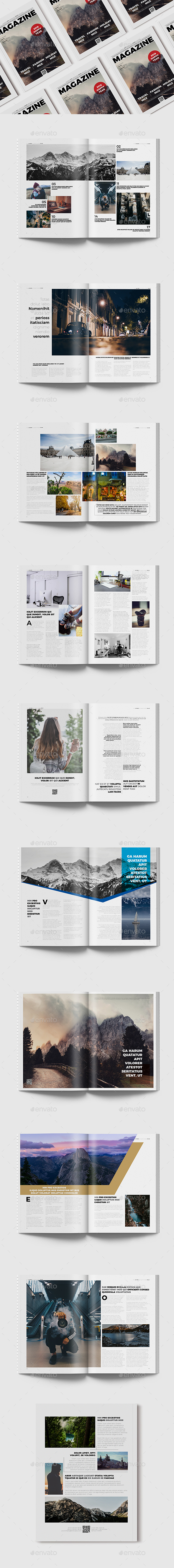 GraphicRiver Magazine Template 20 Page 21160566