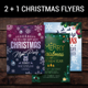 2 + 1 Christmas Flyers - GraphicRiver Item for Sale
