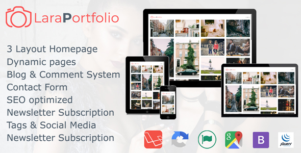 Download Source code              LaraPortfolio CMS Script            nulled nulled version