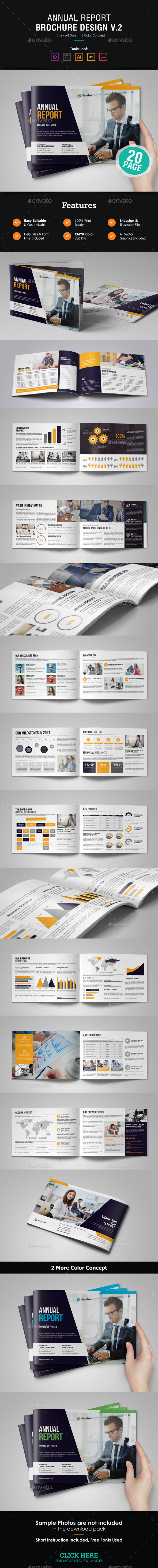 GraphicRiver Annual Report Design v2 21160976