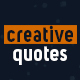 Creative quotes - VideoHive Item for Sale