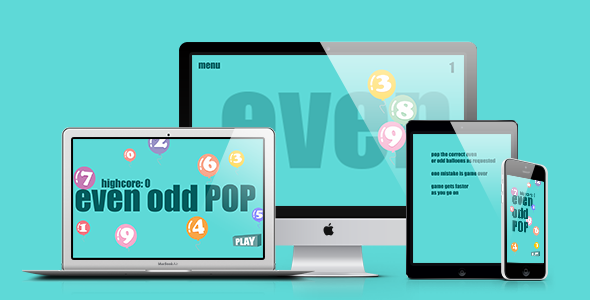 CodeCanyon Math Game Even Odd Pop 21161805