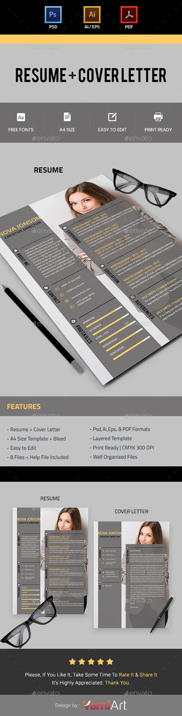 GraphicRiver Resume 21161983