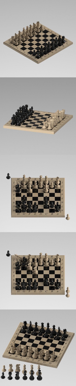 3DOcean Chess 21161988