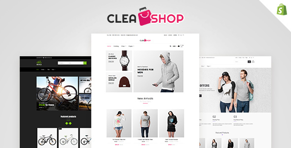 Clean Shop - Multipurpose Shopify Theme