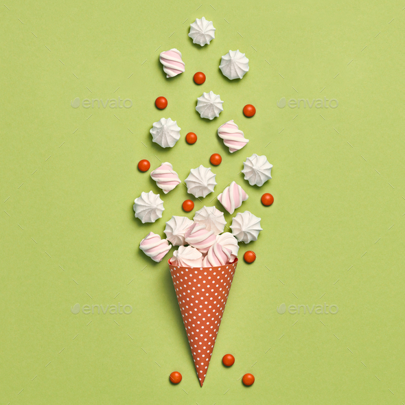 Ice Cream Cone - Stock Photo - Images
