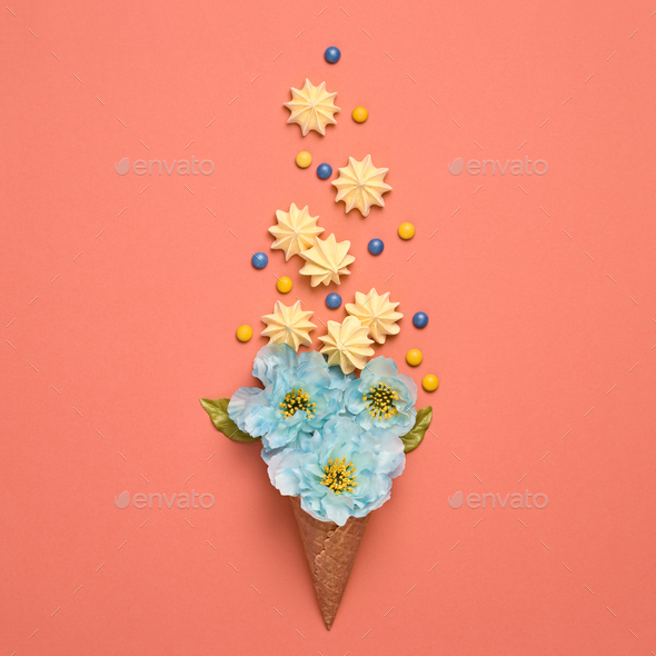 Ice Cream - Stock Photo - Images
